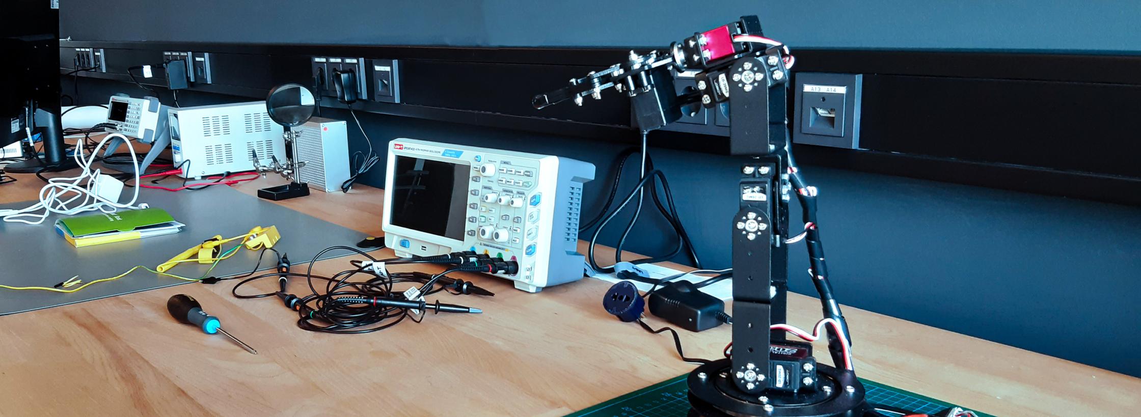 Konferenzraum im Makerspace makeIT